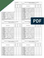 Pauta de Evaluación Cuaderno de Caligrafía
