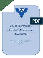 Guia de Interpretacion Resultados Microbiologicos CARNES