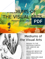Mediums of the visual arts,painting,sculpture,and architecture