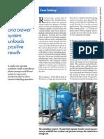 Pbe_200406-Conveyor and Blower Sytem Unloads Positive Results