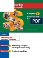 Feasibility and Business Plan