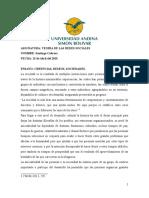 CREENCIAS DESEOS SOCIEDADES