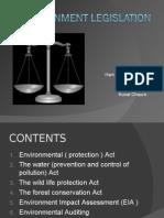 Environment Legislation