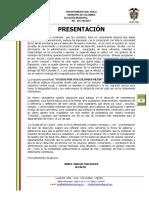Plan de Desarrollo Colombia Huila 2012