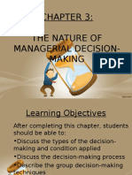 Chapter 3- Decision Making