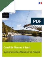 Canal de Nantes à Brest Guide Plaisancier