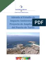 Adenda Al EsIA Proyecto Ampliacion Puerto de Tarifa