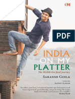 India on My Platter - Saransh Goila