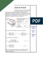 Ecuaciones de Fresne1