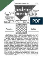 El Ajedrez Americano #01