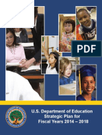 US Department of Education Strategic Plan