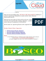 Static GK PDF by AffairsCloud - June 2016 Updated
