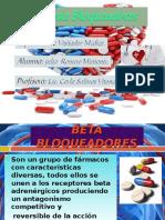 Bloqueadores Beta Diapositiva Para Especialistas.
