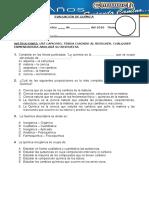 evalucion quimica 1sec