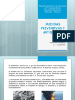 Medidas Preventivas y Mitigantes.