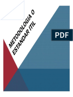 Metodologia o Estandar ITIL