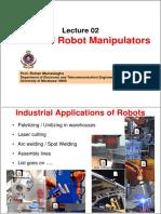 Lec 2 Robot Manipulators