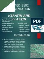 Keratin and Elastin