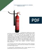 Extintores de Incendios de Dióxido de Carbono