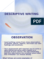 descriptive writing  1