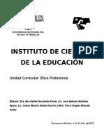 Programa de Ética Profesional