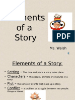 elements of a story powerpoint  2