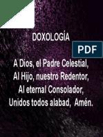 1 Doxologia