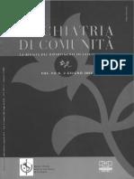 2008 - Angelozzi - Ai Confini Dell'EBM (EBM in Psichiatria)
