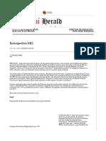 The Piauí Herald - Retrospectiva 2012
