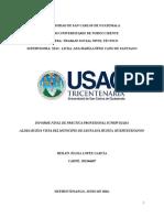 Proyectos Individuales (Informe Final CUNOROC)