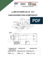 (III) 2-B 2011 Canalizaciones Para Acometidas BT