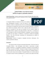 A Companhia Paulista e Suas Vilas Ferroviarias Historia de Empresa e Patrimonio Industrial