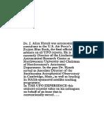 The UFO Experience - A Scientific Inquiry - J. Allen Hynek