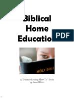 Biblical Home Education (3702437)