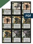 Warhammer WarCry CCG - Demo Good Action Deck