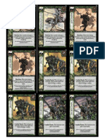 Warhammer WarCry CCG - Demo Good Action Deck