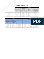 Jadwal Piket & Daftar Kelompok TP 4.B