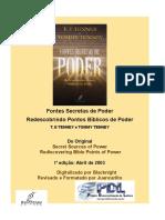 T. E. Tenney e Tommy Tenney - Fontes Secretas de POder