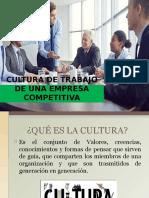 4.5 Cultura de Trabajo en Una Empresa Competitiva
