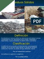 Residuos Sólidos clase