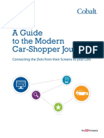 Guide To Modern Car Shopper Journey