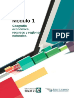 Módulo 1 - Geografía Económica, Recursos y Regiones Naturales