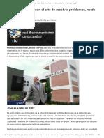 """""""Las Matemáticas Son El Arte de Resolver Problemas, No de Seguir Reglas"""" - Blog - Red Iberoamericana de Docentes"""