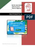 Matemática Tema 11 Áreas Versión PDF