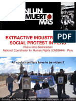 Extractive Industries and Social Protest in Peru