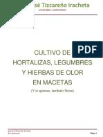 Cultivo de Hortalizas en Macetas
