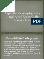 Aspectos Conceptuales y Legales Del Sistema de Contabilidad