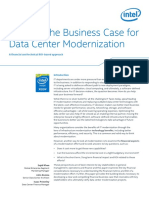 Data Center Modernization Financial Business Case
