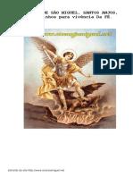 Devocionario Sao Miguel Arcanjo Www Arcanjomiguel Net