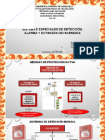 Sistemas de Detección, Alarma y Extinción de Incendios
